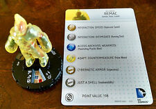 Remac #050 SR Batman Heroclix set with card super rare -- the Melted Candle Man