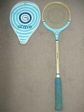 Vintage Grays Light Blue squash racquet