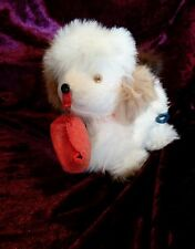 Vintage 1950's Japan Jumping Dog Windup Toy Shoe in Mouth, Bell.Works
