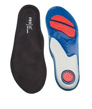 PRO 11 Pro performance red spot gel insoles for trainers work boots and sports