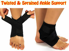 Twisted Sprained Ankle Brace Support Foot Sprain Bandage Wrap Compression Brace