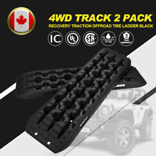 2 Pack Recovery Traction Offroad Black Tracks Sand Snow Tire Ladder 4WD Track