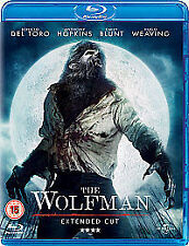 The Wolfman (Blu-ray, 2010) *Free Postage*