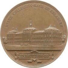 Erlangen, Bronzemedaille 1889, v. Lauer, Collegien-Haus Friderico-Alexandrina