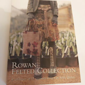 Knitting pattern book - Rowan Felted Collection - by Sarah Hatton