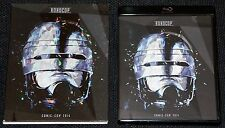 ROBOCOP Rare COMIC CON 2014 Limited Slipcover, Poster & Black Blu-Ray Case
