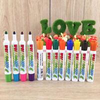 12 Farben Whiteboard Marker Stifte Set Whiteboard Etikettenleisten Set Flipchart