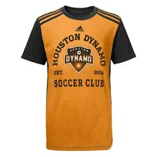Houston Dynamo Adidas MLS Youth Orange Club Triblend T-Shirt