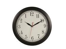 Backwards Clock Novelty Joke Office Analogue Wall Clock Timepiece
