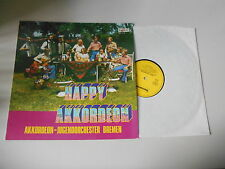LP Pop Akkordeon Jugendorch' Bremen - Happy Akkordeon (12 Song) BOCCACCIO Simson