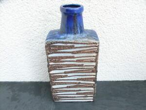 Fat Lava Scheurich Vase 281-30, 70er Jahre, Keramik, SEHR SCHÖN !!