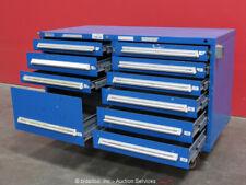 Stanley Vidmar 10-Drawer Tool Cabinet Equipment Storage Box Rollaway bidadoo