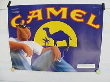 JOE CAMEL WATCHING THE SUN SET CAMEL LIGHTS POSTER  DATED 1997 (4TH QT)