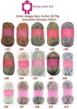 Sirdar Snuggly Baby Crofter DK 50g - Clearance Offer Price from £1.75