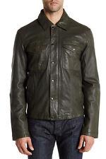 Mens John Varvatos Genuine Lambskin Leather Jacket $995 XL