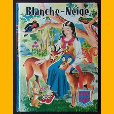 BLANCHE-NEIGE  et autres contes Grimm Guy Sabran 1968