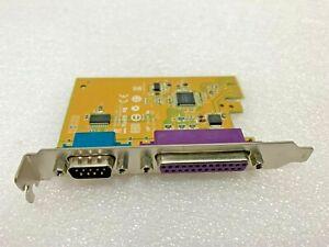 Sunix Serial RS232 & Parallel LPT PCI-e Expansion Multi I/O Card MIO6469A 05R3FC