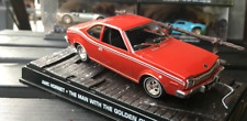 1/43 Movie car model, Red AMC HORNET die casting car model Gift collection