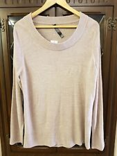 New with Tags, Light Brown Long Sleeved Jumper by Look, Size 18