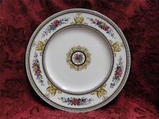 """Wedgwood Columbia, White, Medallion, Green Trim: Dinner Plate (s), 10 7/8"""""""