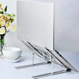 Foldable Laptop Stand Aluminum alloy Adjustable Notebook Tablet Computer Holder