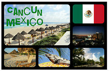 CANCUN, MEXICO - SOUVENIR NOVELTY FRIDGE MAGNET - BRAND NEW - GIFT / XMAS