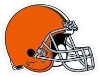 "Cleveland Browns NFL 8"" Helmet Classic Logo Vinyl Magnet Auto Car Truck Vehicle"