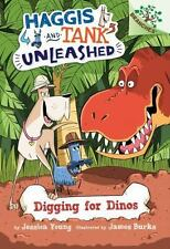 Digging for Dinos: A Branches Book (Haggis and Tank Unleashed #2)-ExLibrary