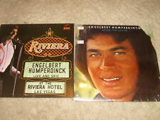 Two LP Lot - Englebert Humperdinck Live At The Riviera Hotel,  After The Lovin'