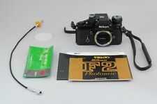 [Excellent++] Nikon F2 Photomic DP1 Body Black with AS1 From Japan #03002