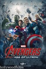 AVENGERS AGE Of ULTRON Movie Poster Original DS 27x40 2 sided Marvel howono