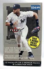 2002 Fleer Premium Baseball Blaster Box - 14 Packs - 112 Cards