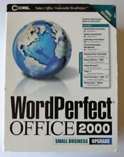 NEW Sealed Corel Wordperfect Office 2000 Small Business Upgrade