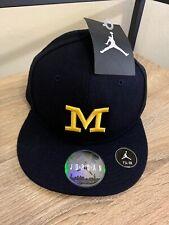 "Air Jordan Michigan Wolverines Classic ""M"" Hat Cap Men's Fitted size 7 1/4 58cm"