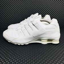 Nike Shox NZ (Men's Size 13) Athletic Running Sneakers White Shoes