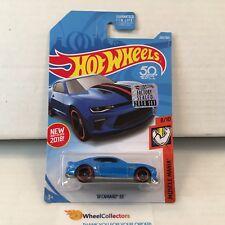 '18 Camaro SS #265 * Blue * 2018 Hot Wheels Factory Set * b24