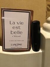 NEW Lancôme lipstick & perfume (both sample size)
