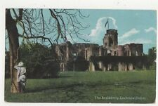 The Residency Lucknow India 1908 Postcard 476a