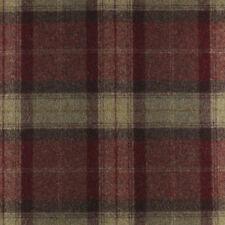 NEW Abraham Moon Skye Almandine Fabric. 100% Wool Tartan Plaid.  Top Quality
