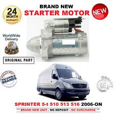 FOR MERCEDES BENZ SPRINTER 5-t STARTER MOTOR 2006> 510 513 516 516 CDi 4x4