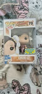 Pop! Asia Street Fighter Chun Li (Pink) #70 2016 Convention Exclusive
