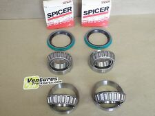 WHEEL BEARING AND SEAL KIT FORD F150 F100  4X4 DANA 44 FRONT SPICER OR TIMKEN