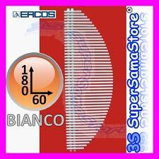 3S TERMOARREDO DECORATIVO VELA ERCOS BIANCO SCALDASALVIETTE BAGNO H 180 x L 60
