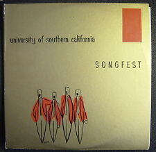 UNIVERSITY OF SOUTHERN CALIFORNIA (USC) Fifth Annual SONGFEST (1958) 2 LP-SCARCE
