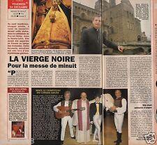 Coupure de presse Clipping 1993 La Vierge Noire du Puy en Velay  (1 page 1/2)