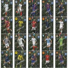 Fußball Saison 2017-2018 Gold Trading Cards