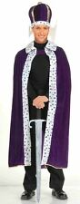 Forum Novelties King Robe & Crown Set Purple Adult Mens Halloween Costume 61300