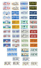 1/24 1/25 scale model car assorted Canada license plates Canadian tags 1:25