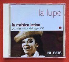La Lupe La Musica Latina Grandes Mitos Del Siglo XX Guaracha Salsa MANZANA 2002