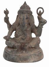 La thaïlande 20. JH. GANESH-a thai bronze figure of Ganesa-statuette déesse indienne